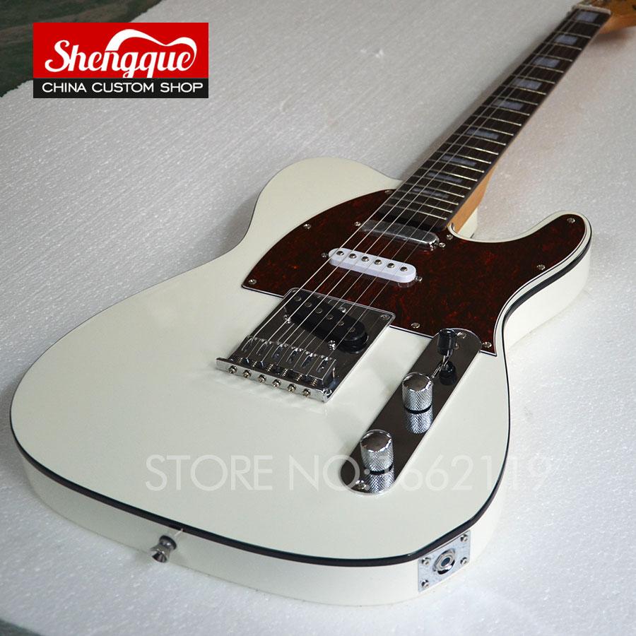 buy factory custom top quality tele electric guitar telecastor 6 strings white. Black Bedroom Furniture Sets. Home Design Ideas