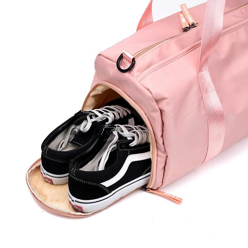 saco de viagem rosa lantejoulas ombro bolsa