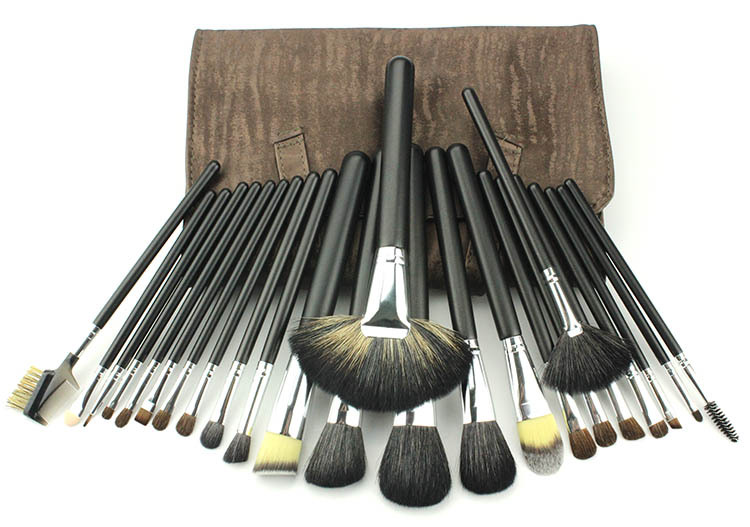 FGHGF 24 pcs Makeup brush set High Quality Soft Taklon Hair Professional Makeup Artist Brush Tool Kit