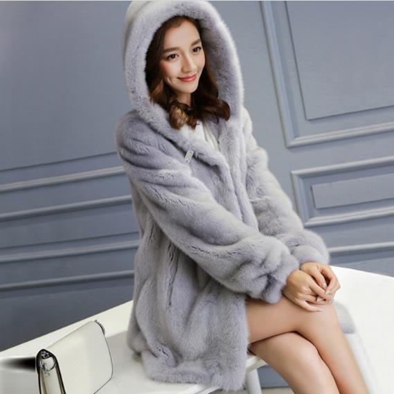 521be10deae07 Clobee 2019 Winter Women s Faux Fur Jacket Artificial Fur Overcoat Furry  Coat Femme Plus Size Warm Fake Fur Outwear Z50