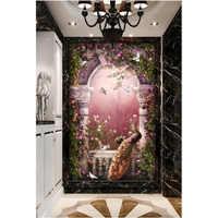 Youran Giardino Da Sogno Modello Diamante Mosaico, 5D DIY Pittura Pavone Diamante, animale, diamante Ricamo, artigianato, Decorazione Della Parete