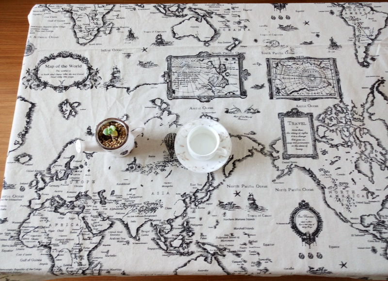 Marvelous Online Shop Mediterranean Table Cloth Nautical Map Tablecloth Wordl Map  Linen Christmas Tablecloth Table Cover Rectangle Table Cloth | Aliexpress  Mobile