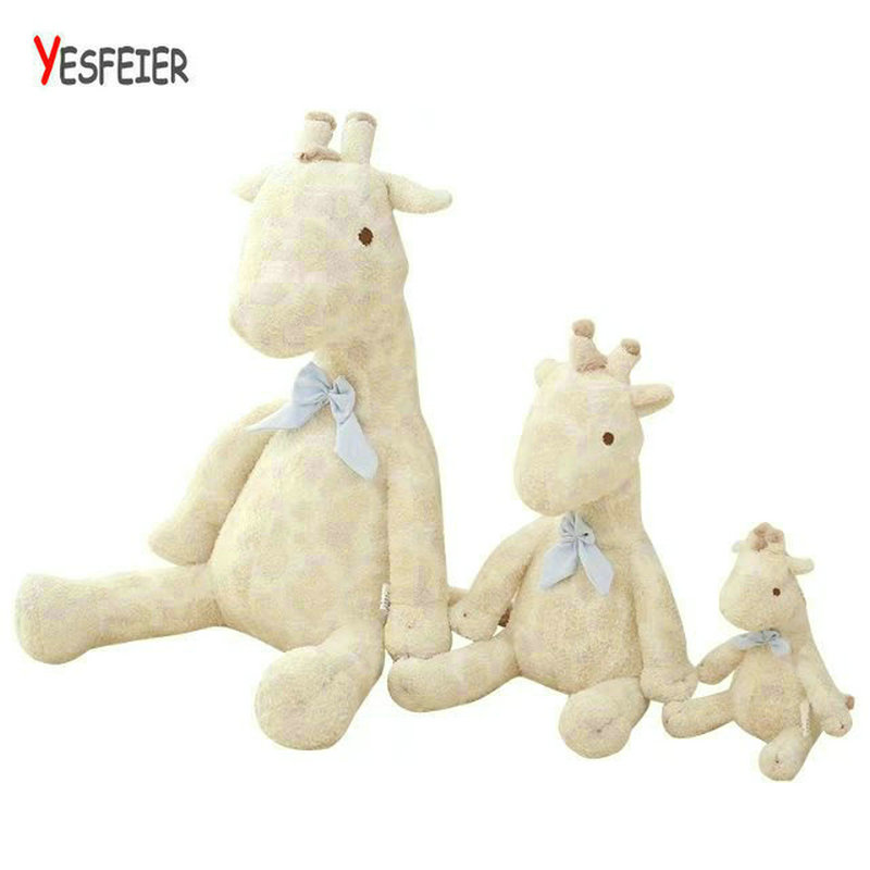 22-55cm Cute white deer plush toys stuffed plush animals deer doll baby appease the toy