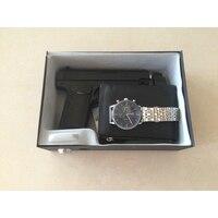 2016 New Pistol jewelry Car safe Lockbox with Key Lock for Handgun Storage of Full Size Pistols