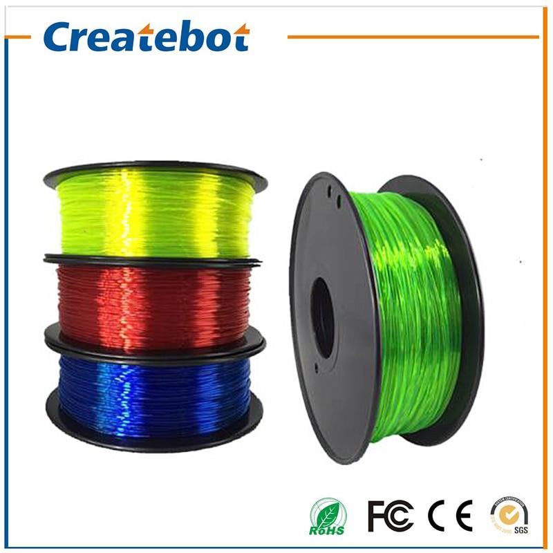 3d printer Flexible filament 1 75mm 3mm 0 8kg filament Impressora 3d Flexible Rubber filament Soft