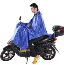 Oxford  Transparent PVC Raincoat Women Men Rain Wear Ponchos Capa De Chuva Motoqueiro Chubasquero
