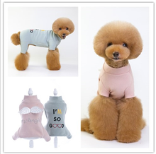 4 Legs Pug Tshirt Pet Clothes For Dogs Yorkshire Terrier Costumes Puppy T Shirt Small Dog Vests Chihuahua French Bulldog
