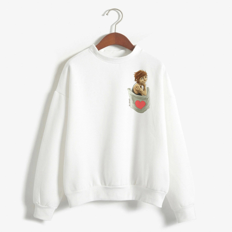 Louis Tomlinson Sweatshirt Women Fashion One Direction Hoodie Nail Horan Sweatshirts Harajuku Pullover Clothes Streetwear