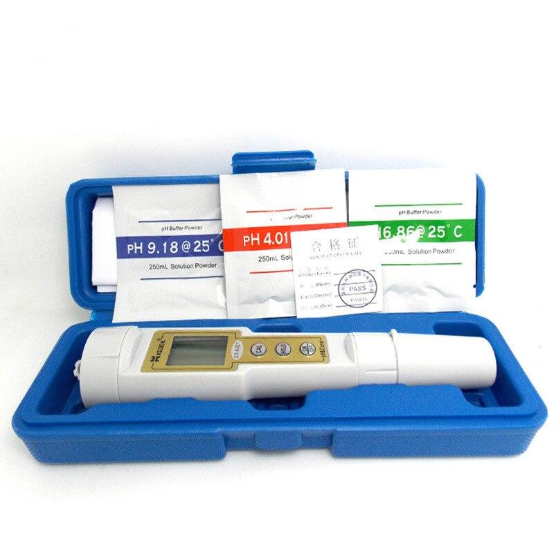 2 en 1 ph-mètre ph-mètre et conductimètre conductimètre qualité de l'eau détection d'aquarium d'eau