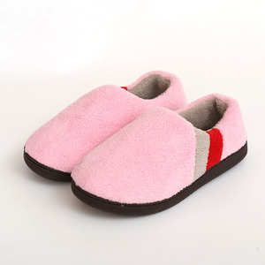 Image 3 - FAYUEKEY Big Size 2019 Autumn Winter Home Thermal Cotton Padded Warm Slippers Men Women Indoor\Floor Sneaker Lovers Flat Shoes