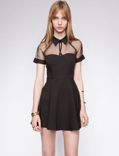 Cute Black Cocktail Dress - Ocodea.com