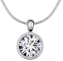 Качественное циркониевое ожерелье подвеска модные ювелирные