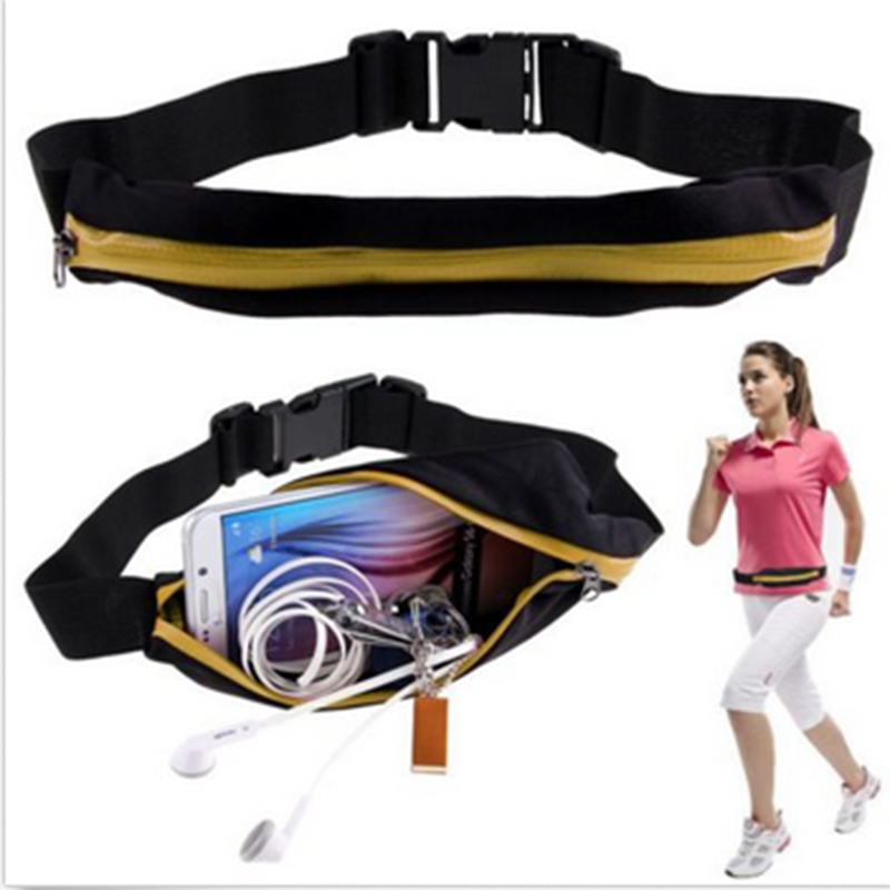 New Outdoor Running Waist Bag Waterproof Mobile Phone Holder Jogging Belt Belly Bag Women Gym Fitness Bag Lady Sport Accessories 13