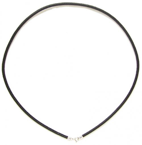 20 PCs 2mm Black Leather Cord / Sterling Silver Necklace 18 Inch hongyang electrolytic capacitors black silver 190 pcs