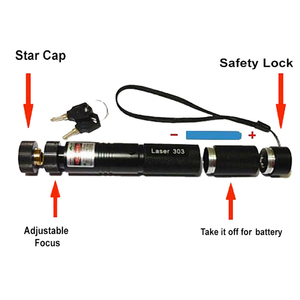 Image 5 - Green Laser Pointer High Power 532nm 303 Green Lazer Pointer Pen Adjustable Burning Match With Rechargeable 18650 Battery