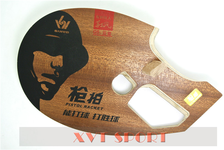 SANWEI 9th Generation Carbon Fiber Pistol Table Tennis Blade Table Tennis Racket table tennis bat Free