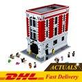 DHL 4695 Unids 16001 Ghostbusters Firehouse Sede Ladrillos de Construcción Bloques Educativos Juguetes Compatible Con 75827