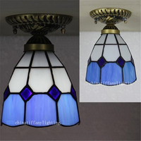 Free Shipping Led Tiffany Lamps Led Ceiling Lights Living Room 120 240V AC 5W LED Inside