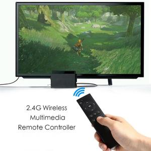 Image 3 - 2.4G Wireless Multimedia Remote Controller for Sony PS4 Gaming Console DVD linear distance remote controlover 10 meters