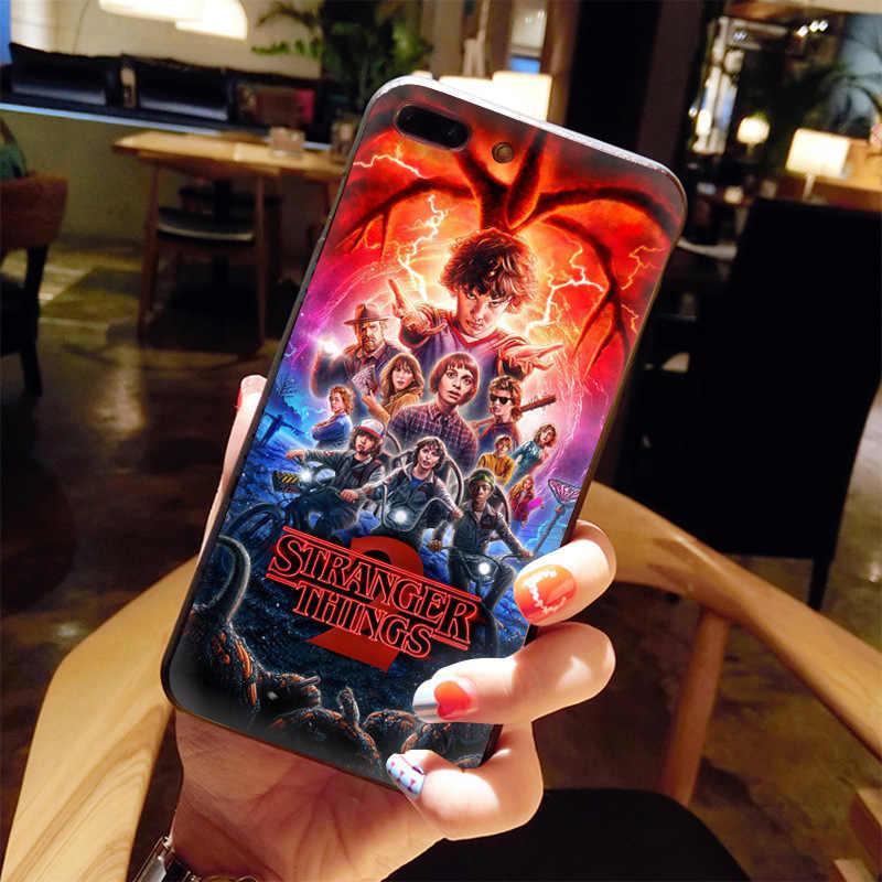 MaiYaCa テレビストレンジャーものファッション楽しいダイナミックに販売電話ケースのための iphone 11 プロ 8 7 66S プラス X 5S 、 SE XS XR XS 最大カバー