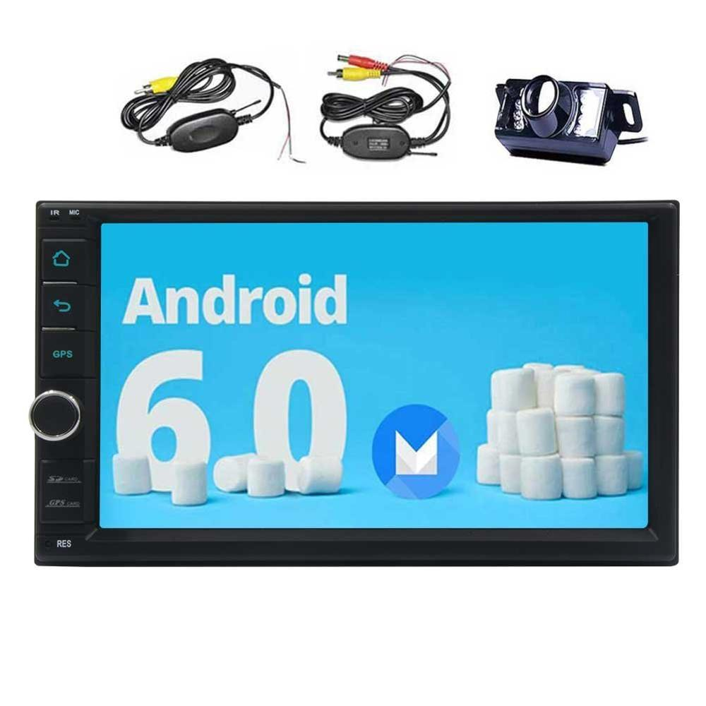 android 6 0 car stereo capacitive screen headunit double. Black Bedroom Furniture Sets. Home Design Ideas