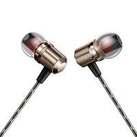 1.2 m יוקרה אופנה מתכת בתוך אוזן אוזניות סופר בס דינמי אוזניות Earbud נוחות בכושר ארגונומי בידוד רעש עם