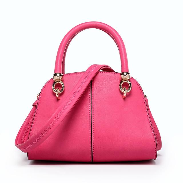 86cb93e067bfe Latest Fashion ladies handbag China wholesale rose red handbag-in ...