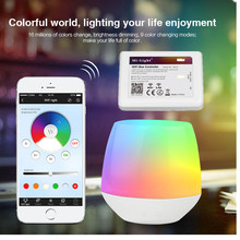2.4G 4-Zone Miboxer WiFi Led Controller RGBW controller Wireless RF Remote Group Dimmable for 5050 3528 led strip new ltech t3x 2 4g led rgb controller rf remote 8 zone led strip panel lighting rf wireless sync zone rgbw controller