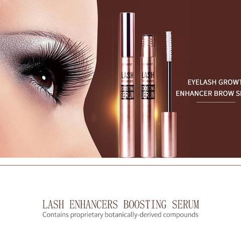 QIBEST Eyelash Enhancer Serum Eyelash Growth Serum Treatment Natural Herbal Medicine Eye Lashes Mascara Lengthening Longer TSLM2 Lahore