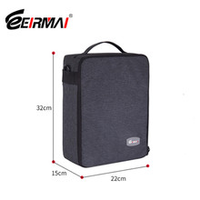 Eirmai Waterproof Multi-function Single-Shoulder Dual-Purpose Bag SLR DSLR Inner Padded Camera Bag Case with Insert Partition цена