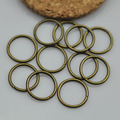 Vintage diy accessories ancient bronze hanging ring 12mm o single-circle 20 pcs