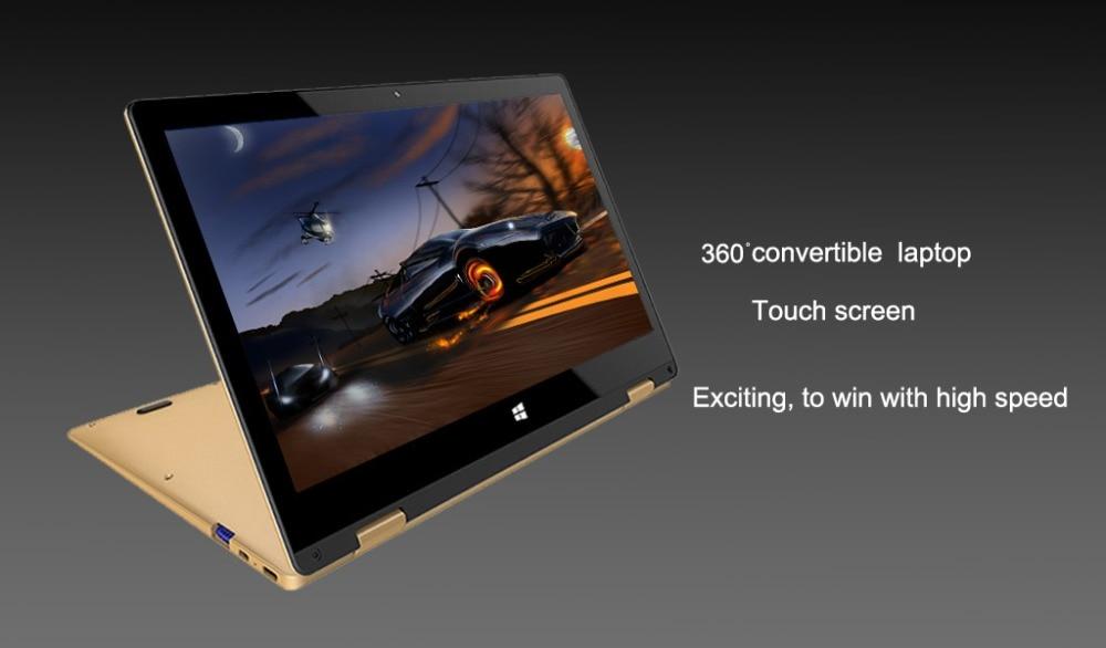 11.6 inch 2 in 1 convertible touch screen Netbook 8GB RAM 1920X1080 IPS Screen 192GB dual band wifi iTSOHOO 360 degree laptop 10