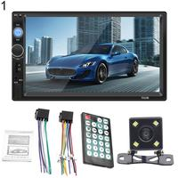 7010B Car Radio Bluetooth 7 Inch HD Stereo USB MP5 Player with Rearview Camera Car MP5 Player