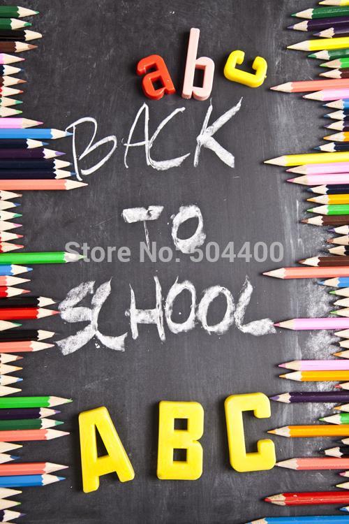 5X7ft Art fabric backdrop photography background school theme blackbord photography backdrop background D-3561
