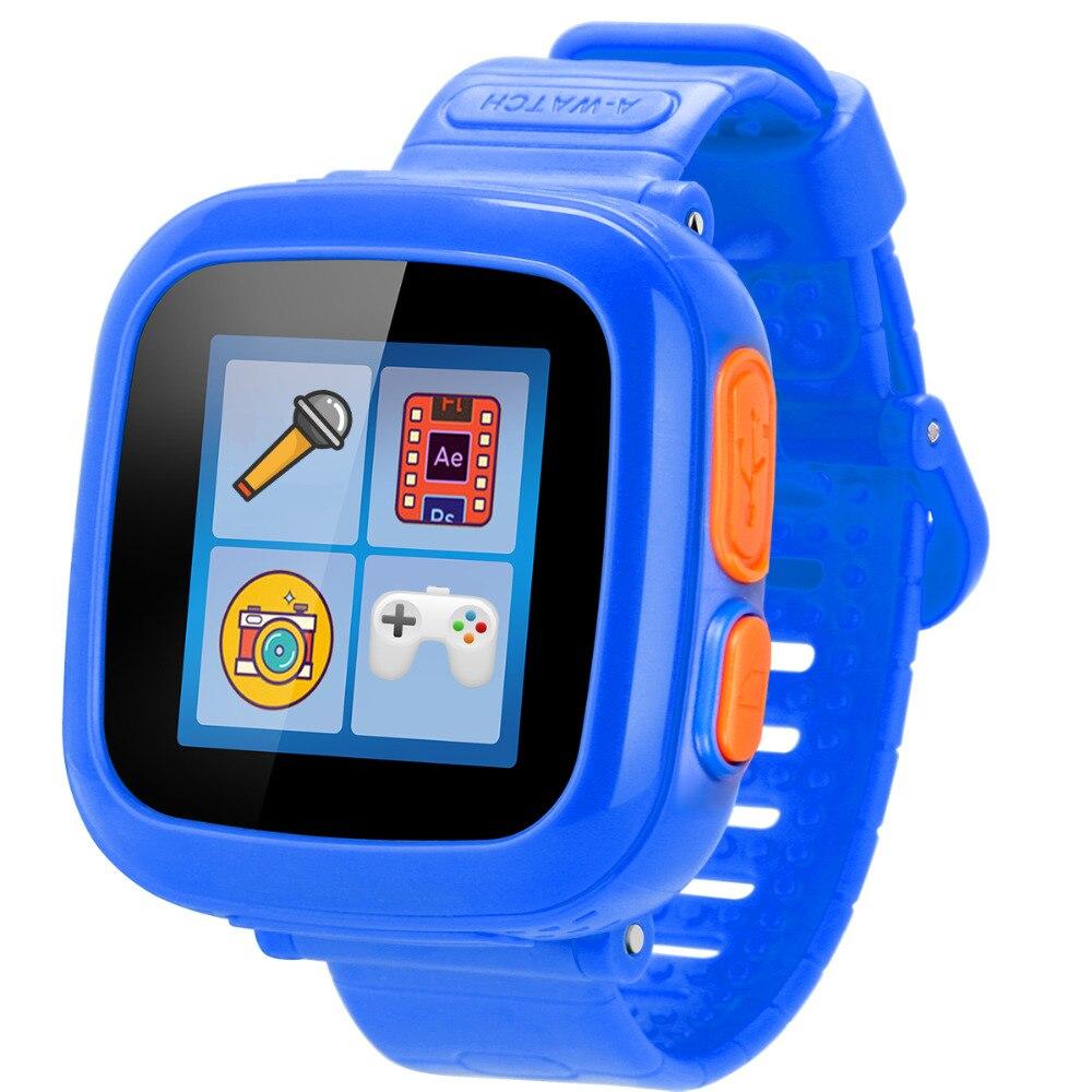 imágenes para Pantalla táctil juego turnmeon smart watch para childred kid chica chico juguete electrónica ok520 smartwatch navidad 2017 regalos de año nuevo