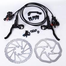 Shimano MT200 тормозной велосипед mtb Гидравлический дисковый тормоз набор зажим горный велосипед тормоза обновление для M315 тормоза w/n G3/HS1 ротор