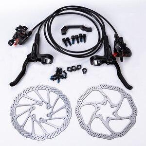 Shimano MT200 Brake bicycle bike mtb Hydraulic Disc Brake Set clamp mountain bike Brake Update for M315 Brake w/n G3 / HS1 rotor(China)