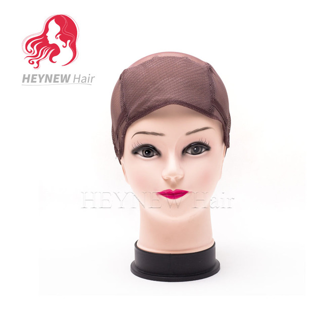 Cheap Weaving Caps Spandex Dome Wig Cap For Making Wigs Brownblack