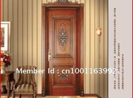 Solid mu fu joins the lacquer that bake finished product door bedroom door suit door 001