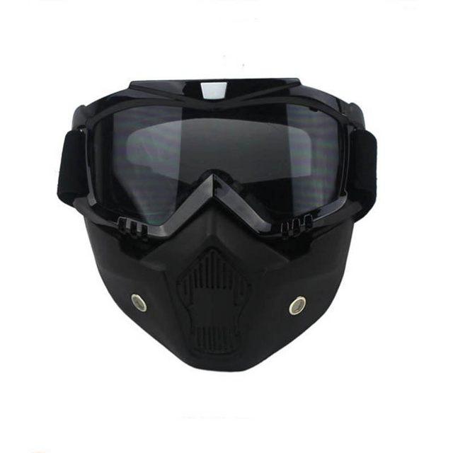 a80c4b1d4babd Ciclismo Capacete Da Motocicleta Tampa Anti-Fog poluição Frio ...