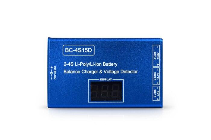 2 S 3 S 4S Cellulaire Li-Ion Li-Poly RC Équilibre de La Batterie Détecteur de Tension Pour Quadcopter Hexacopter Pas adaptateur F05668