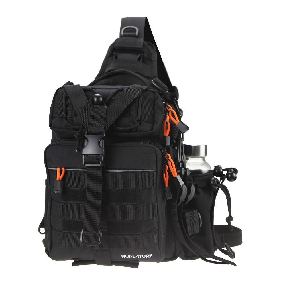Спортивный Тактический Рюкзак RUNATURE, легкий Водонепроницаемый слинг-рюкзак, тактическая Наплечная Сумка для байдарки, военный Молл для акти...