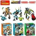 Decool 10505-10507 Hero Factory 6.0 Estrella Solider Taladro Máquina Cystal Bestia y A Granel A Granel/Breez Máquina de Pulgas ajuste legoe juguetes del bloque