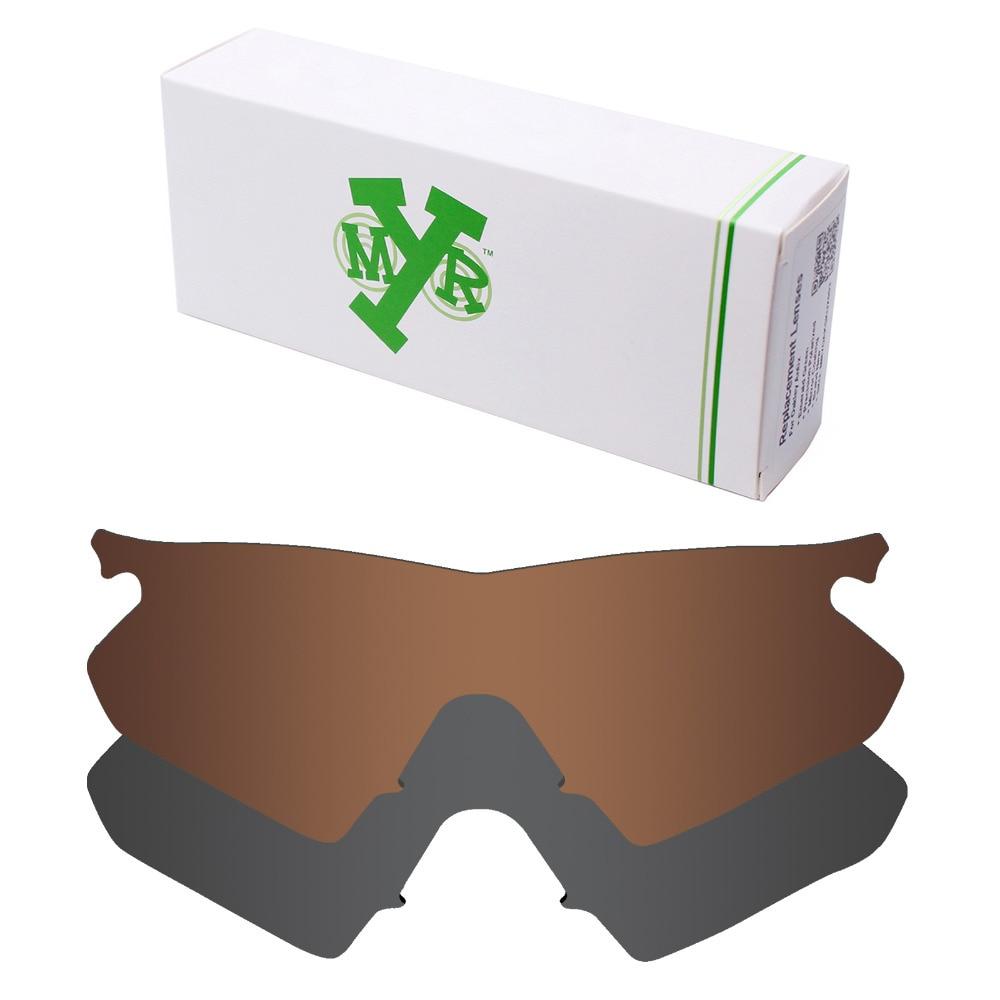 2 Peças Mryok POLARIZADA Lentes de Reposição para Om Aquecedor Armação Óculos  Oakley Lente Stealth Black   Bronze Brown a3d20fb316