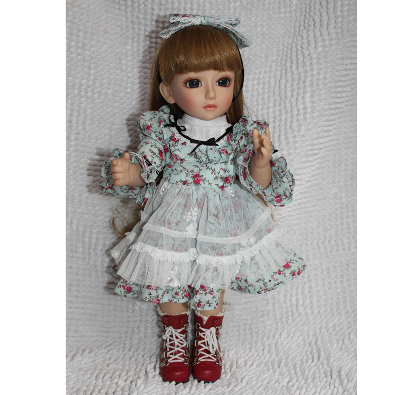 2015 Best Birthday Gift  45CM Silicone Doll BJD SD High Quality Childs Lifelike Dolls