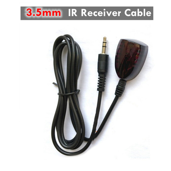 цена на IR Receiver Cable External 38kHz Infrared Sensor 3.5mm Jack Plug Wire Extender Repeater Extension Cables For TV DVD Home Theatre