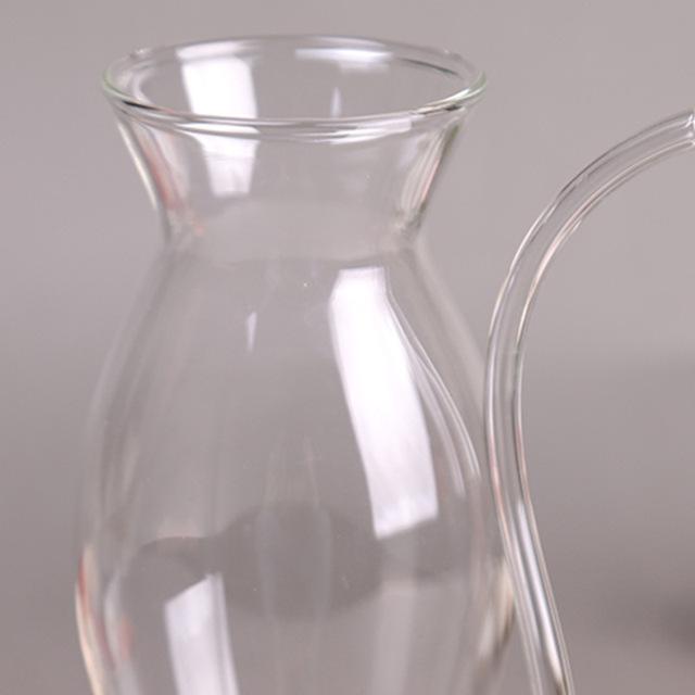 Glass Mug with Straw for Cold Drinks 2 Pcs Set