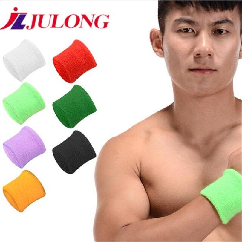 Orange Sweat Towels: JLJULONG 2PCS Cotton Long Towel Wristband Sweat Absorbent