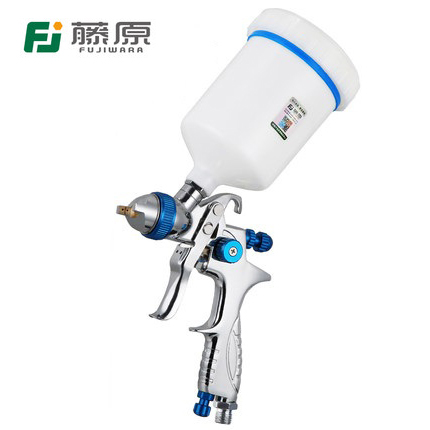 FUJIWARA 206 Paint Spray Gun HLVP High Atomizing Pneumatic Spray Gun Automobile Furniture Topcoat Spray Gun Spraying Tool fujiwara electric spray gun latex paint sprayer paint spray gun paint painting tools pneumatic high atomization 2 5mm