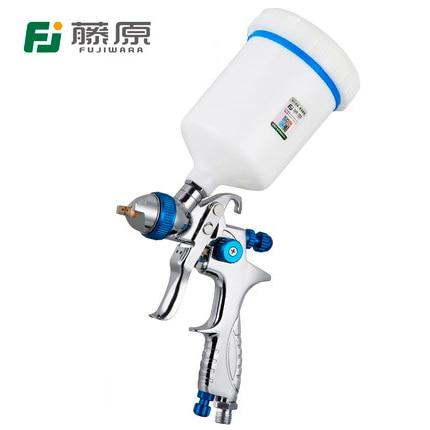 FUJIWARA 206 Paint Spray Gun HLVP High Atomizing Pneumatic Spray Gun Automobile Furniture Topcoat Spray Gun Spraying Tool